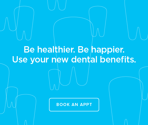 Be Heathier, Be Happier. Use your new dental benefits. - Antioch Dentistry